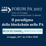 Il paradigma della Blockchain nella PA: se ne discute a ForumPA