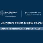 Un focus sui progetti internazionali della Blockchain nel prossimo Osservatorio Fintech e Digital Finance
