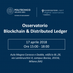 Blockchain & Distributed Ledger: appuntamento con l'Osservatorio 2018