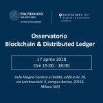 Blockchain & Distributed Ledger: appuntamento con l'Osservatorio 2018