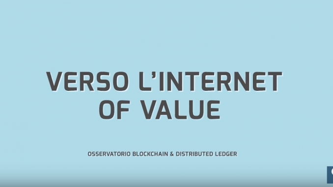 Che cos'è la Blockchain, come funziona bitcoin nel video dell'Osservatorio Blockchain & Distributed Ledger