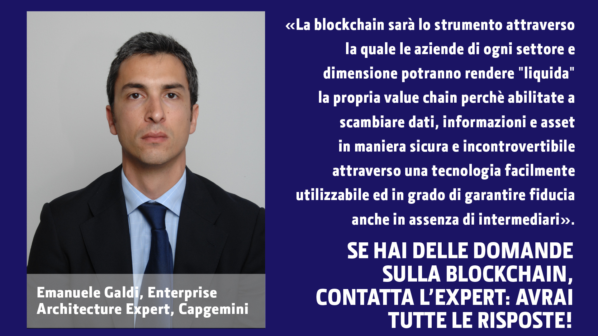 Emanuele Galdi - Capgemini