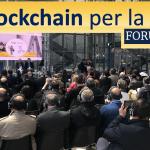La decentralizzazione blockchain per una PA 4.0 a ForumPA