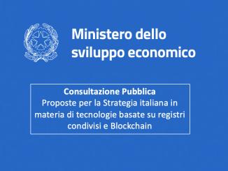 strategia nazionale blockchain